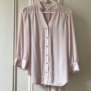 Anthropologie {Moulinette Soeurs} 3/4 blouse